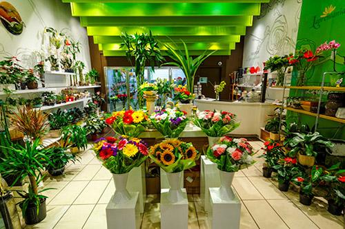 فروشگاه گل فلورا